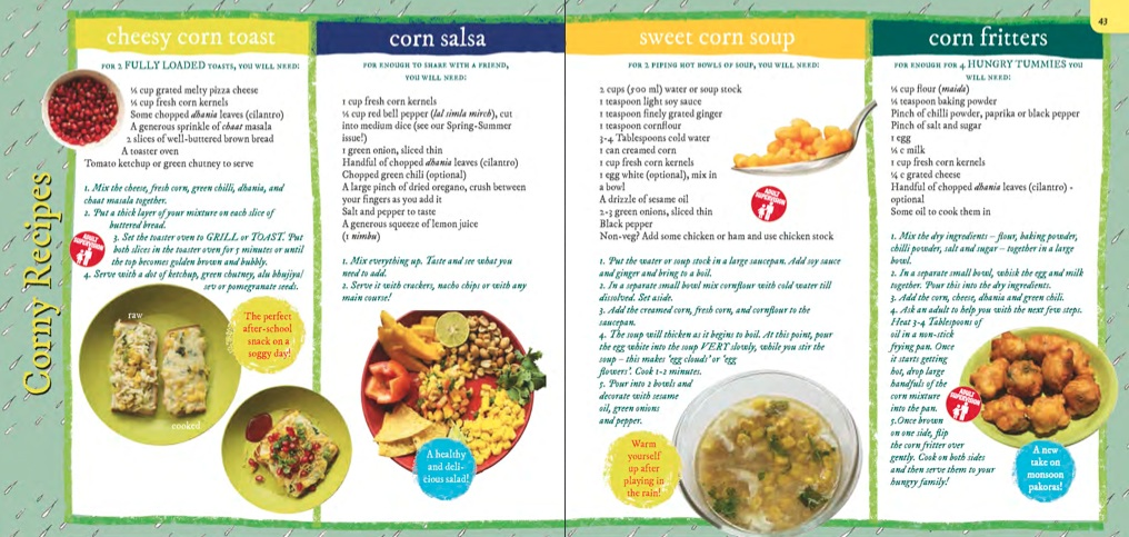 Corn recepies
